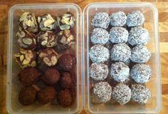 Chocolate Coconut & Almond Balls