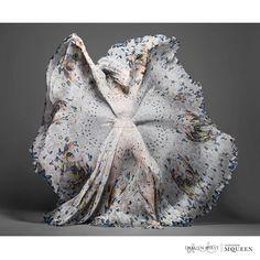 Alexander McQueen & Damien Hirst | Scarf Collaboration.1