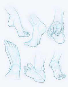 Feet drawing