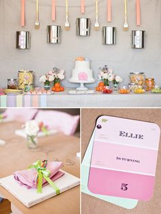 Creative & Sweet Pastel Art Birthday Party