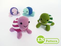 Tony the Turtle - ENGLISH VERSION pattern on Craftsy.com