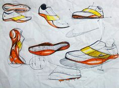 Nike Sprint_Track Spikes Shoes on Behance