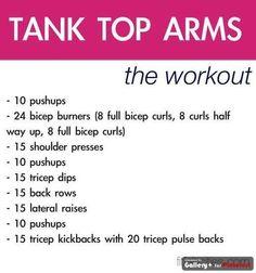 Arms - extra arm burnout