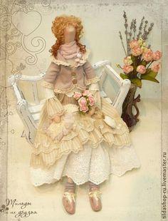 Софья интерьерная кукла в стиле тильда - тильда,кукла Тильда,тильды,куклы тильды
