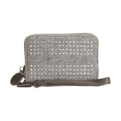 e73d3a50c991 Deux Lux Crystal-Trimmed Small Wristlet Wallet Sale up to 70% off at  Barneyswarehouse.com