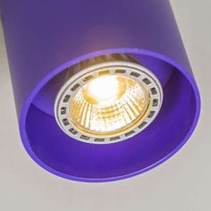 Spot Tubo 1 violet Purpose, Ceiling Lights, Lighting, Home Decor, Light Fixtures, Ceiling Lamps, Lights, Interior Design, Home Interior Design