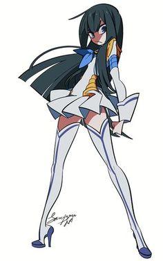 Kiryuuin Satsuki~Kill la Kill by Karabako Kill La Kill Cosplay, Kill A Kill, Manga Anime, Anime Art, Gurren Laggan, Satsuki Kiryuin, Animes On, Estilo Anime, Cowboy Bebop