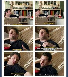 Lazy level: Shawn Spencer...