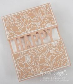 Two for Thursday ~ So Much Happy Videos - Dawn's Stamping Thoughts Dawns Stamping Thoughts, Stamping Up, Diy Birthday, Birthday Cards, Happy Birthday, Happy Balloons, Happy Gif, Arts And Crafts