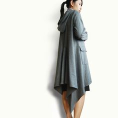 Flying Away cape woolen version Y1007 by idea2lifestyle on Etsy, $68.00