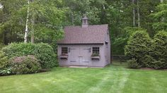 28 best smaller 1 1 2 story barns images barn kits lean to barns for Garden barn vernon ct