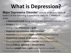 What is depression?   all of this I feel without family or friend support and so much more.