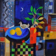 Night Room by Irish Contemporary Artist Manus WALSH
