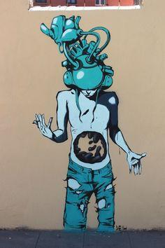 Artist :Deith #streetart #graffiti #street art