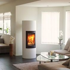 details zu kaminofen la nordica fortuna bifacciale wei 8 kw kamin ofen holzofen eek a. Black Bedroom Furniture Sets. Home Design Ideas
