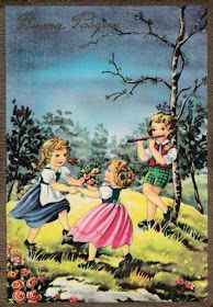 Soloillustratori: Perle Retro Kids, Carino, Images, Victorian, Vintage Illustrations, Anna, Easter, Painting, Artists