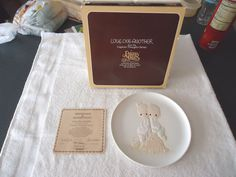 Vintage 1980 Precious Moments Collector Plate