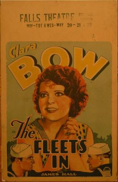 'The Fleet's In',1928, Clara Bow