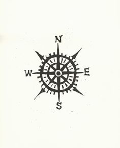 Tattoo Inspiration - Compass Rose