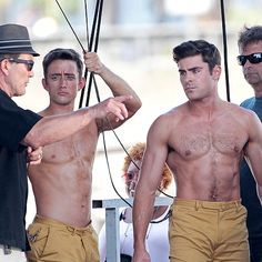 Get ready to do a double take thanks to these on-set shots of Ben Affleck, Chris Hemsworth, Amy Schumer and more actors alongside the stunt people who do their daring dirty work Zac Efron, Jaimie Alexander, Amy Schumer, Kate Mara, Andrew Garfield, Shailene Woodley, Taylor Lautner, Daniel Craig, Tom Hardy