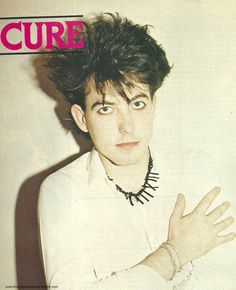 Robert Smith The Cure // i may have already pinned this? god knows anymore...
