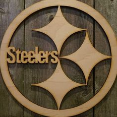 Steelers Wall Art pittsburgh steelers sign, original, hand painted, faux vintage bar
