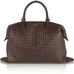 a70e43ed029e Bottega VenetaIntrecciato leather tote Brown Leather Totes
