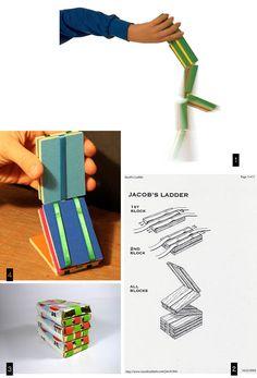 Jacob's ladder // Echelle de jacob DIY