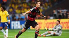 Miroslav Klose scores his goal #16