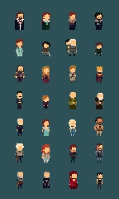 Twitter / _andrio: 8bit Game Of Thrones! ...