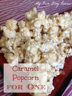 Caramel Marshmallow Popcorn ~ My Own Blog Review