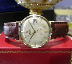 Mens Vintage OMEGA Automatic Seamaster De Ville by LaJollaJewelry, $950.00