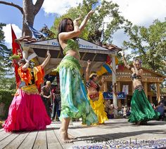 The Ladies - Gypsy Dance Theatre - 2011 Texas Renaissance Festival by Rebecca Latson Photography, via Flickr