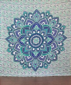 Add a distinctive touch to your bedroom space by hanging Indian mandala hippie tapestry. Constructed from 100% cotton, this tapestry is high in quality, durable