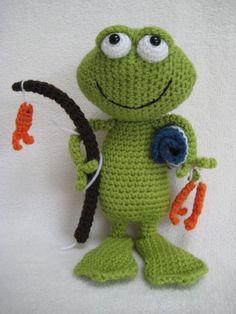 Die 439 Besten Bilder Von Frogs Frösche Rana Crochet