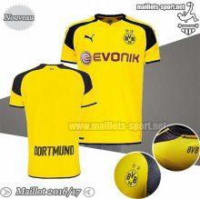 Personnalise Ensemble Maillot Foot Dortmund Jaune 2016-2017 Champions League | Maillots-Sport