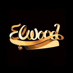 ELWOOD | Lettering design for the American clothing brand Elwood #project  #design #typography #marketing #jablonskimarketing