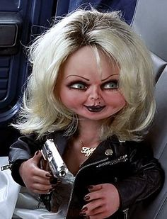 Bride of Chucky (1998) - aww, so pretty!!  Love Miss Tiffany!!