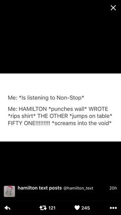 HAMILTON WROTE THE OTHER FIFTY ONE