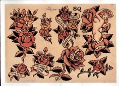 sailor jerry roses