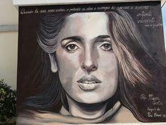 Siligo - Murales dedicato a Maria Carta
