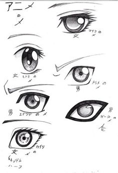 How to Draw Fantasy Anime | anime eyes - - DrawingNow
