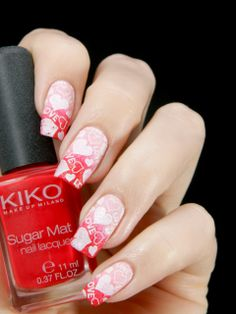 Better Nail Day: valentine #nail #nails #nailart