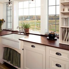 Wood Counter Home Design Ideas, Pictures, Remodel and Decor