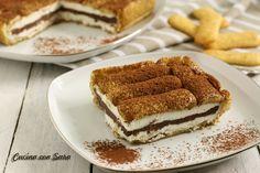 Torta fredda pavesini, panna e nutella - senza cottura