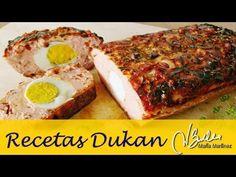 Pastel de Pollo Pavo de Violeta Dieta Dukan (Ataque) / Dukan Diet Turkey Chicken Meatloaf - YouTube