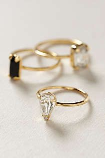 Anthropologie - Sequentia Ring Set. I received these as a gift. Love them!