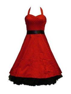 Small Polka Dot Dress Red (reminds me of the glee national dresses) 50s Dresses, Vintage Dresses, Vintage Outfits, Sexy Dresses, Evening Dresses, Short Dresses, Julia Roberts, Dress Me Up, Dress Skirt