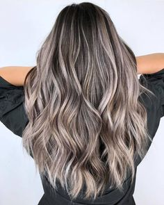 Balayage Blonde Ends - 20 Fabulous Brown Hair with Blonde Highlights Looks to Love - The Trending Hairstyle Brown Ombre Hair, Brown Blonde Hair, Light Brown Hair, Brown Hair Colors, Ash Brown Hair With Highlights, Ashy Hair, Brunette Highlights, Hair Color Highlights, Light Blonde
