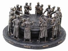 Knights of the Round Table Sculpture U$99